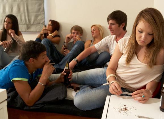I giovani e le dipendenze